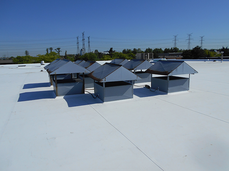 A Commercial Flat Roof