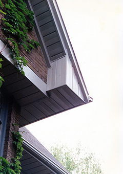 Soffits on a House Roof