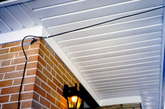 soffits of a house
