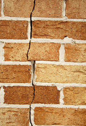 Shifted or Buckled Brick