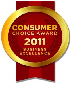 consumer choice award for best roofing company