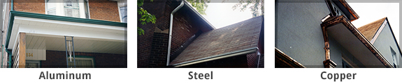 Common Eavestrough Systems