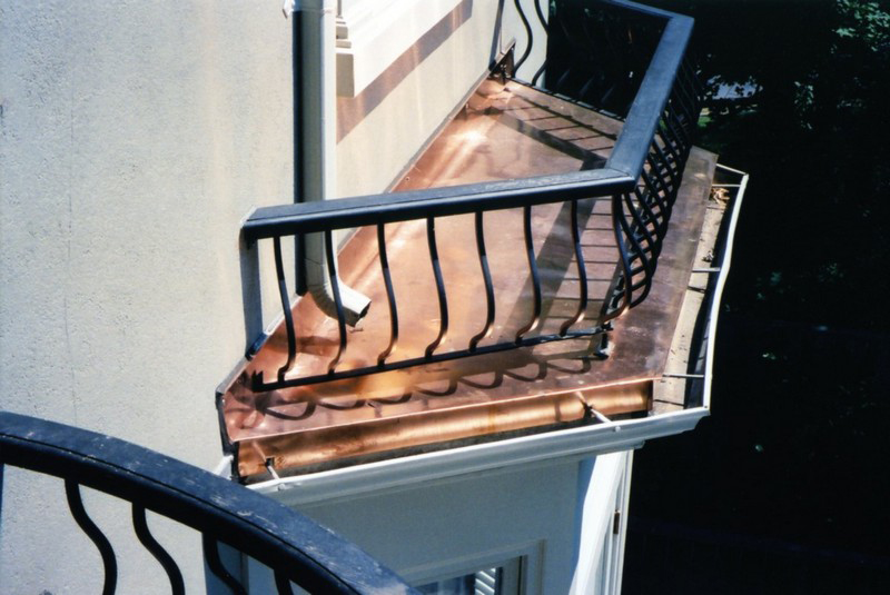 Copper Work on You Roofs