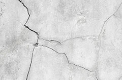 Close-Up of Cracked Concrete Wall