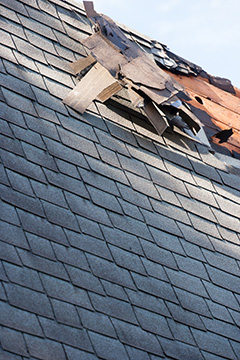 Roof Shingle Damage After Winter Storm