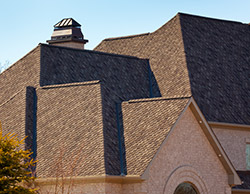 New Roof With Asphalt Shingles